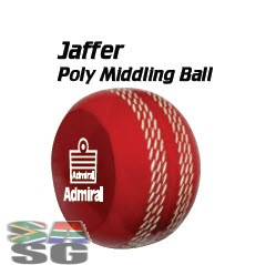 Admiral Jaffer Poly Middling Cricket Balls Pack of 12