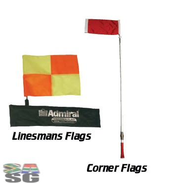 Admiral Linesmans and Corner Flags