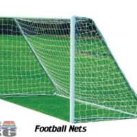 Football Nets Standard Mini 3m x 2m Set of 2