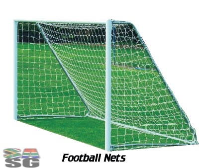 Football Nets Super Junior 5m x 2m Set of 2
