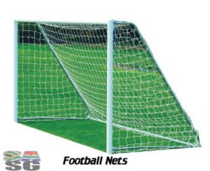 Football Nets Standard Junior 5m x 2m Set of 2