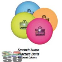 Admiral Smooth Lumo Practice Hockey Balls Pack of 12
