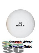 Admiral Smooth White Practice Hockey Balls Pack of 12