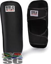 Title Kick Boxing Shin Guard