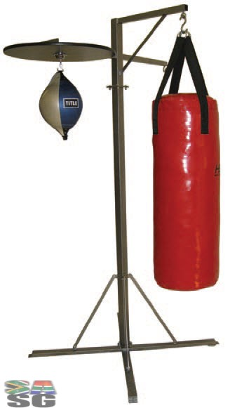 Title Punch Bag Stand with swivel