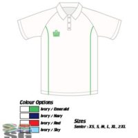 Admiral County Piped Cricket Shirt