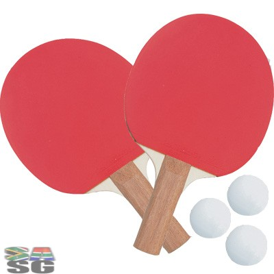 Four Bat Table Tennis Set