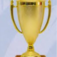 Gold Cup Soccer Trophy Medium
