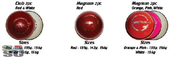 Magnum Orange Cricket Balls Pack of 12