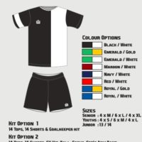 Admiral Coventry Soccer Kit Senior Option 1