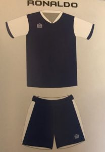 Admiral Ronaldo Soccer Kit Junior Option 2