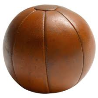 Medicine Ball 4kg Leather