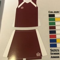 Admiral Mia Netball Kit Senior Option 2
