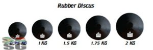 Rubber Discuss 1.75kg