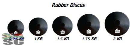 Rubber Discuss 2kg