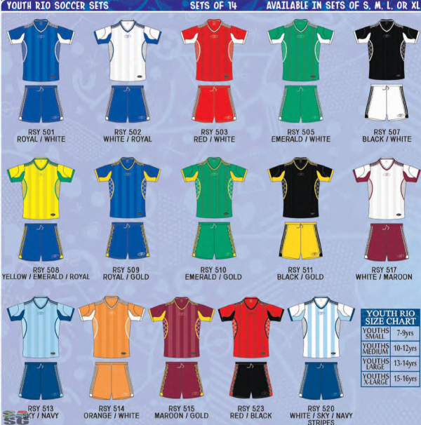 Premier Rio Soccer Kit Junior