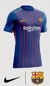 cheap for discount 83825 8ceda Barcelona Men's Home 2018/2019 Kit