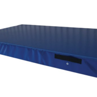 Gymnastics Crash Mat (2290 x 1370 x 100 mm deep) - 13 density